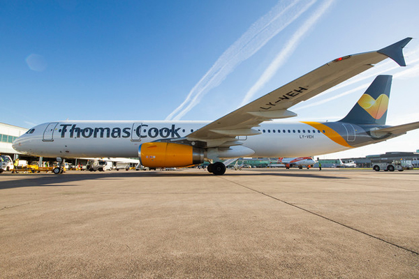 Police escort family off Thomas Cook flight after abuse claims