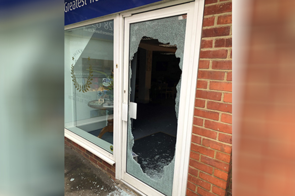 Haslemere Travel suffers break-in