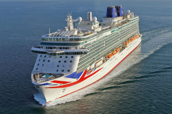 Brawl, Britannia? Cruise fight 'blown out of proportion'