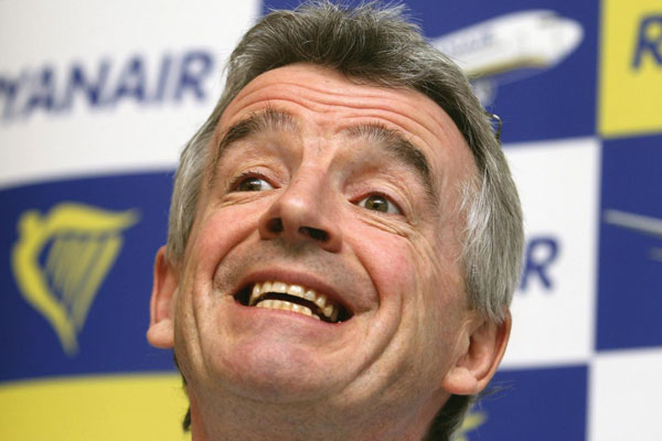 Ryanair boss claims Thomas Cook licensing 'should have been stricter'
