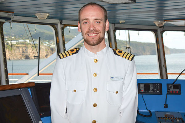 British captain to take helm of Scenic Eclipse