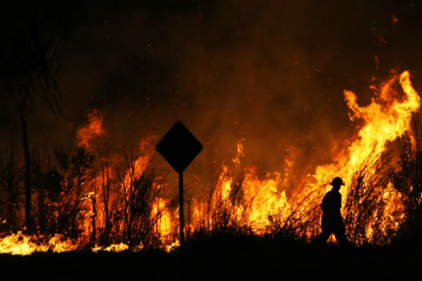 Operators and agents help clients in Australia to avoid bushfires