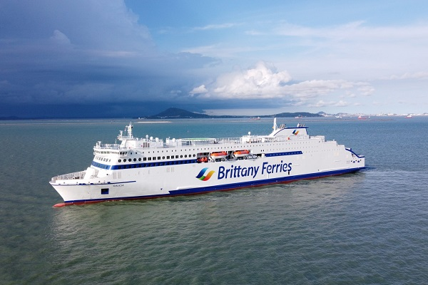 Brittany Ferries unveils 'super-ferry' Galicia