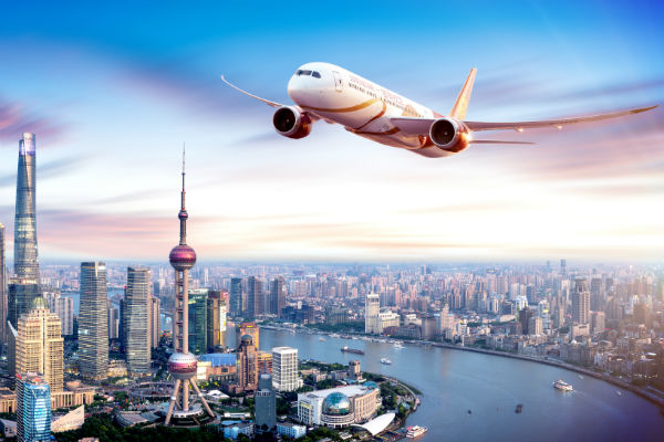 Manchester gains new Shanghai air link