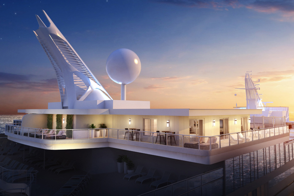 Princess Cruises to offer 'largest balconies at sea' on new ships