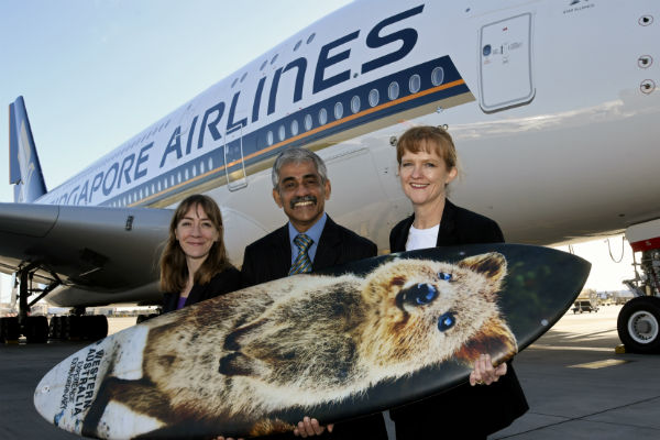 Aussie Specialist agents to fly SIA to 2019 Corroboree West
