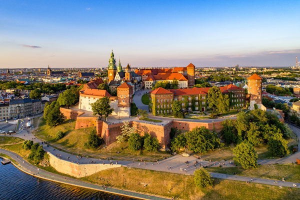 Watch video tours of Polish cities for your chance to win one of six weekends away