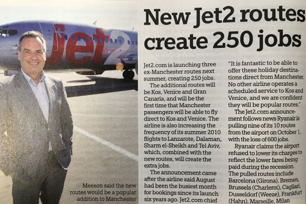 This week in: featuring Jet2.com, Lunn Poly, Owners Abroad, Atba and more