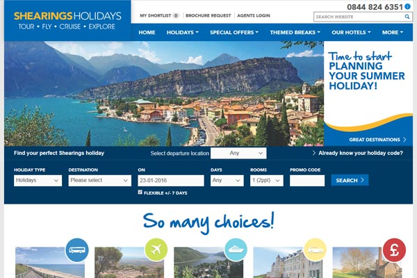 Shearings Holidays becomes latest member of Tipto