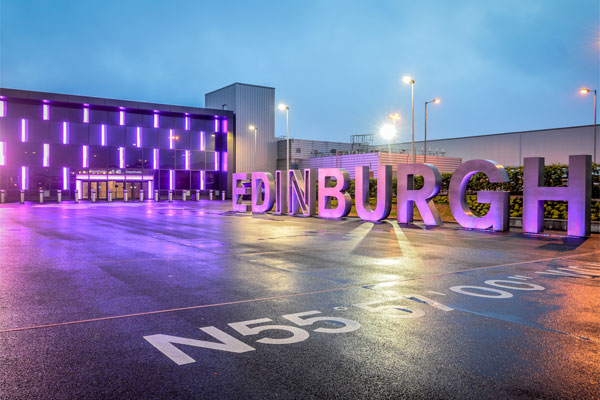 New record set by Edinburgh airport