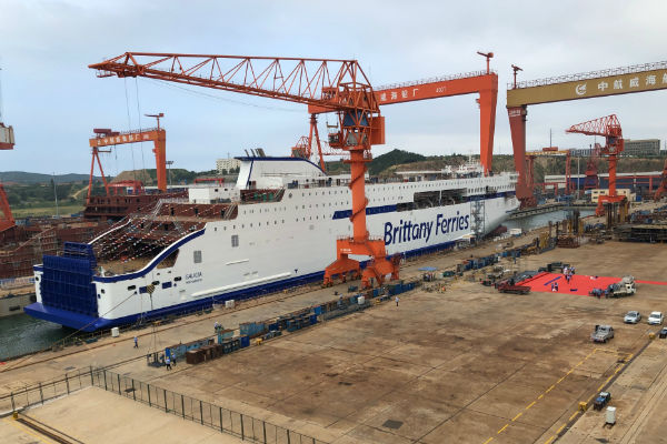 Brittany Ferries marks double new ship milestone