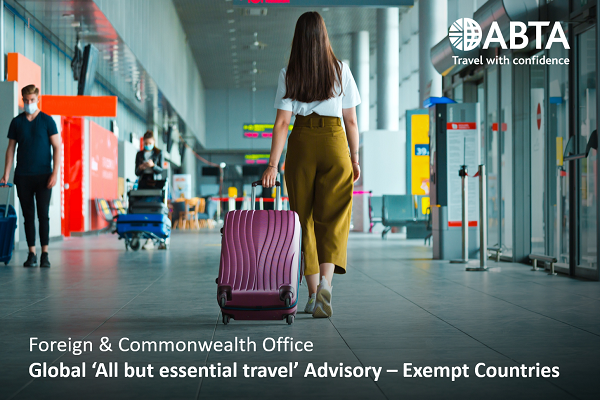Abta creates resources to help explain travel advice changes