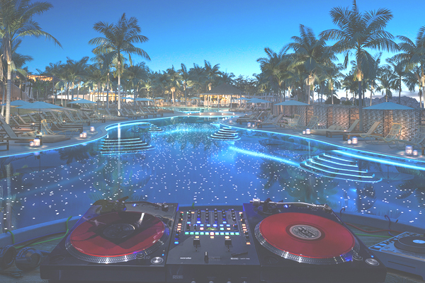 Video: Virgin Voyages builds beach club and reveals entertainment on board