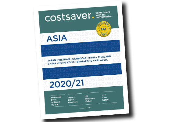 Costsaver adds new destinations and mini breaks to Asia programme