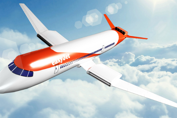 EasyJet presents future vision of electric aircraft operating short-haul 'flyways'