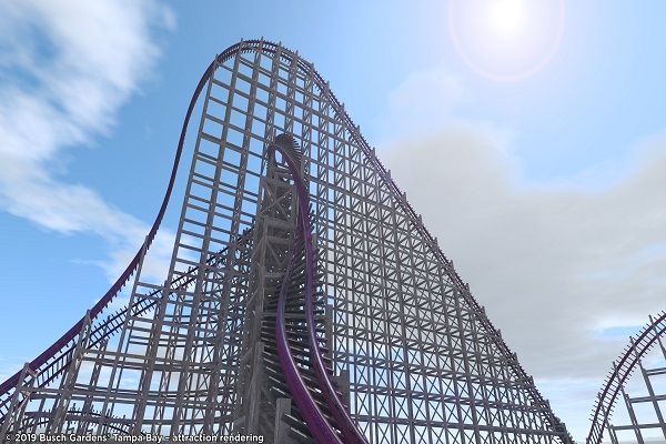 Busch Gardens announces tallest hybrid rollercoaster in North America
