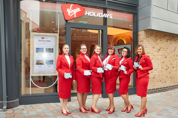 Virgin Holidays opening wave of V-Room stores