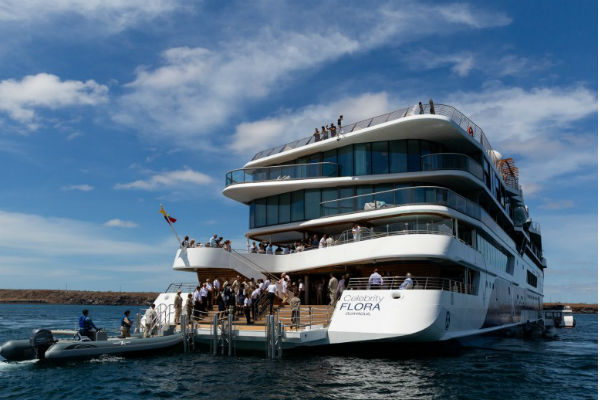 Celebrity Cruises launches Galapagos ship with 'sustainability at its core'
