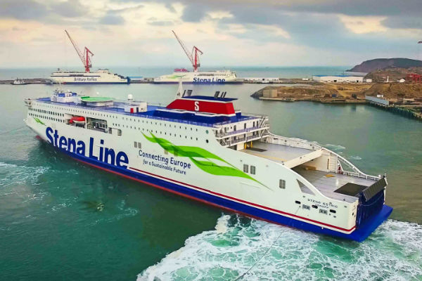 New Stena ferry embarks on 10,000-mile delivery voyage