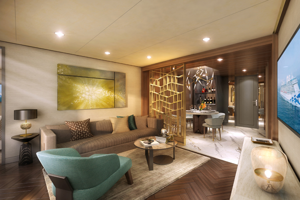 Princess Cruises aims to 'redefine' luxury suites on Sky Princess