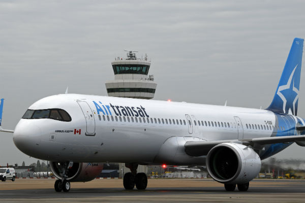 Air Transat brings more sustainable aircraft to the UK