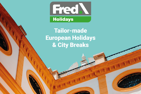Fred showcases Collette's escorted tours
