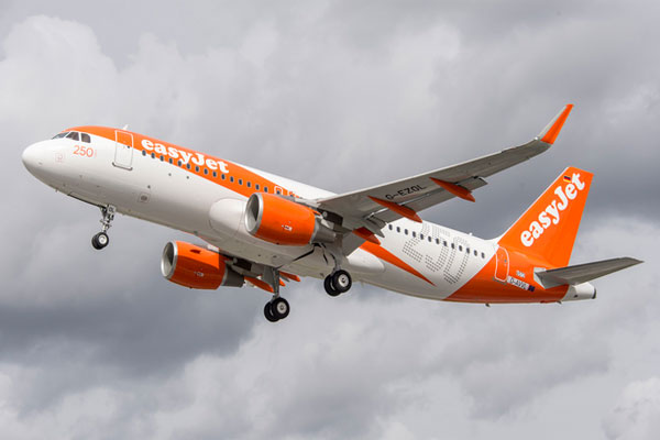 EasyJet puts 2019-20 winter fares on sale
