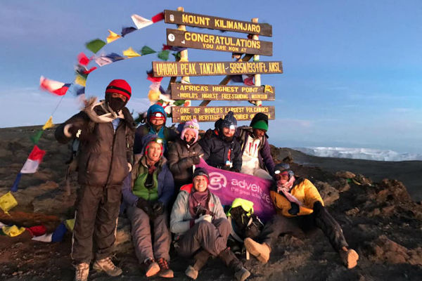 Lancashire agent scales Kilimanjaro for charity