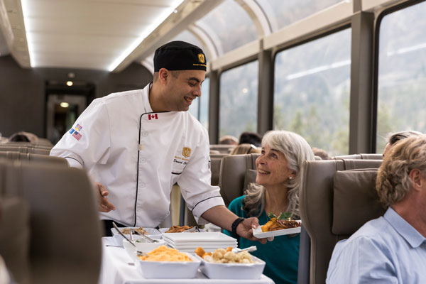 Q&A: Rocky Mountaineer executive chef