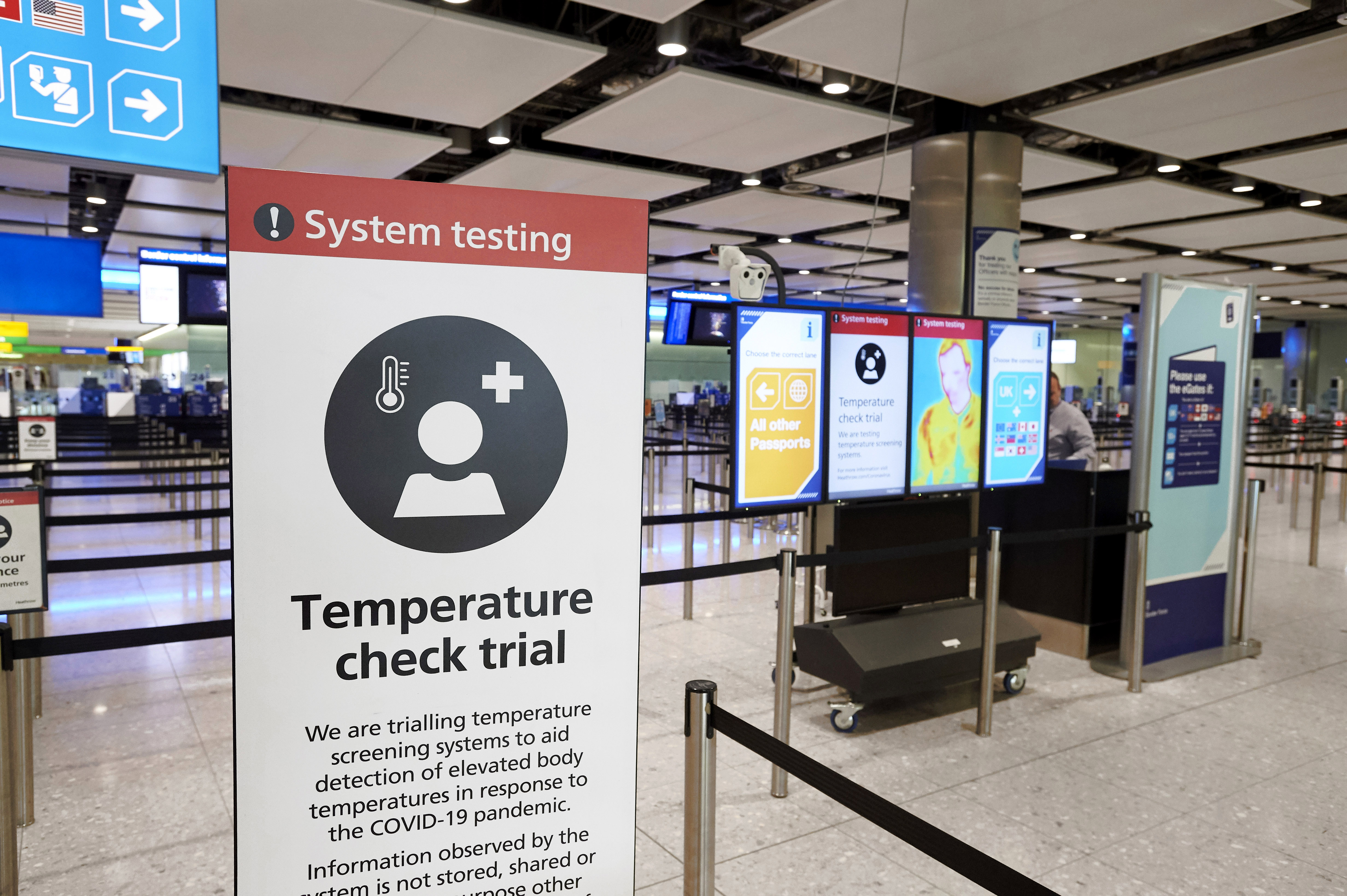 Heathrow expects go-ahead for testing trial in October