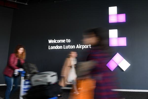 Upgraded Luton airport boosts January carryings
