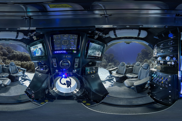 Scenic Eclipse unveils first interior images of its submarine