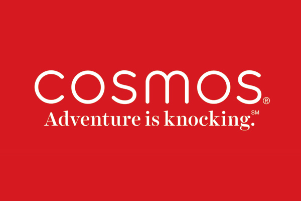 Cosmos revamp introduces 'Adventure is knocking' tagline