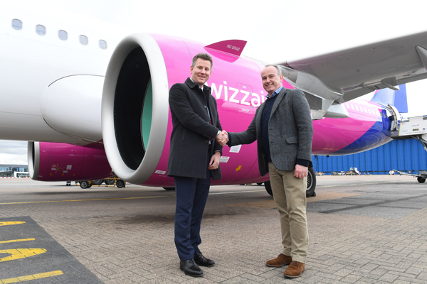 Wizz Air deploys 'quieter' Airbus from Luton airport