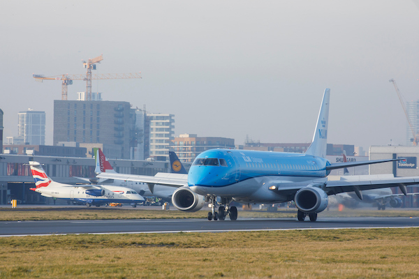 KLM resumes London City-Amsterdam flights