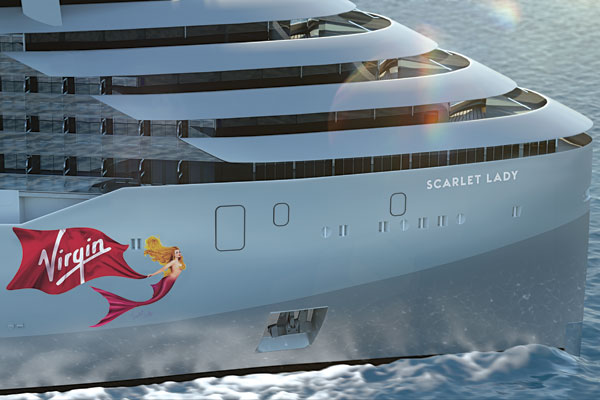Virgin Voyages to name first ship Scarlet Lady