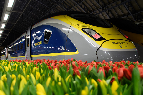Eurostar highlights green credentials with extra Amsterdam frequency