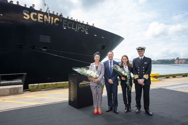 Scenic launches first ocean ship in New York