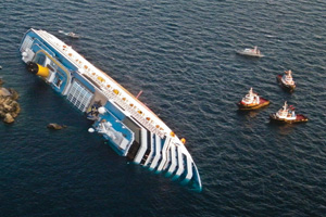 Costa Concordia to be brought upright in September