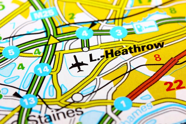 Domestic down, long-haul up at Heathrow
