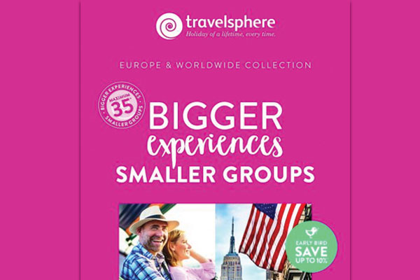 Travelsphere pegs group sizes to 35 in programme for 2020
