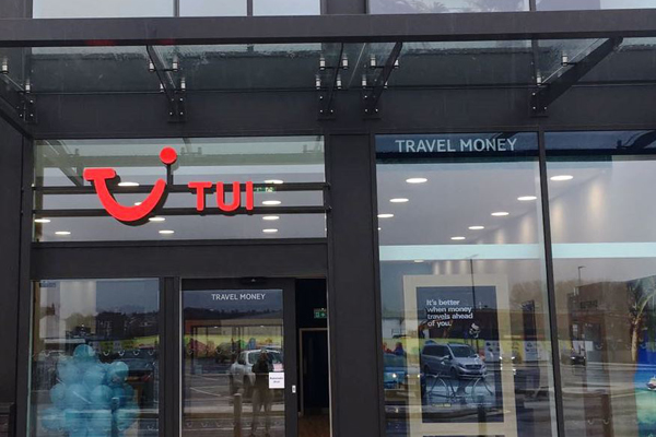 Tui to close 34 stores over next 12 months