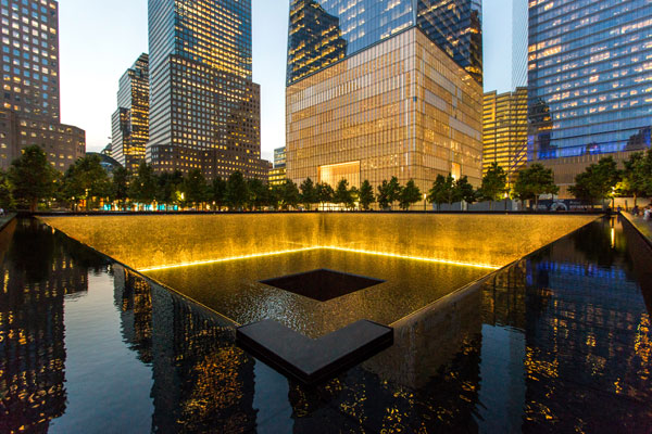 The 9/11 Memorial & Museum, New York City