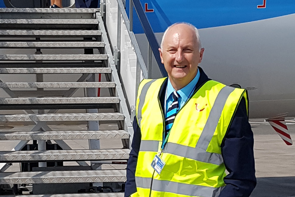 Tui Airways appoints 62-year-old as cabin crew member