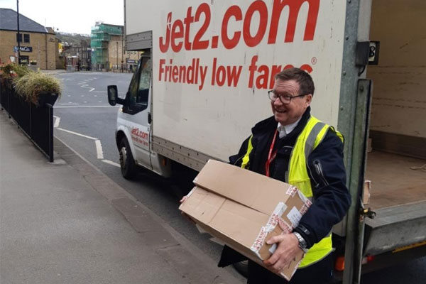 Coronavirus: Jet2 donates in-flight snack boxes to charities