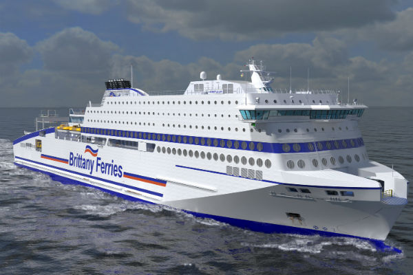 Brittany Ferries details new LNG-powered ship name