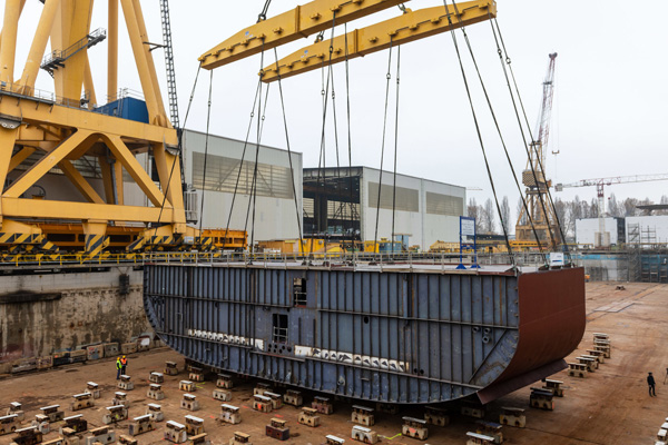 Holland America Line completes keel-laying for new ship Ryndam