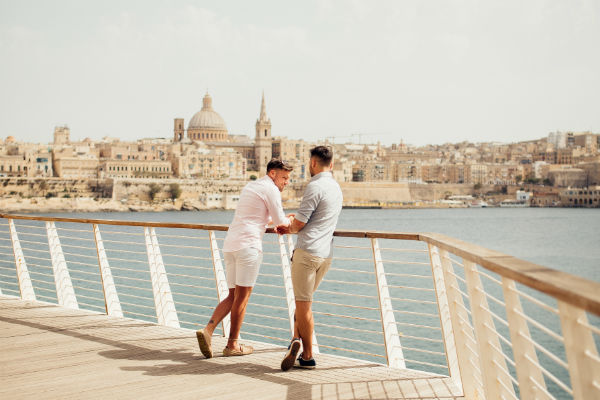 Malta named as the top destination for LGBTQ travellers
