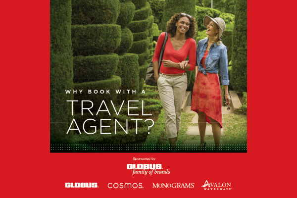 Globus brands' incentive marks National Travel Agent Day