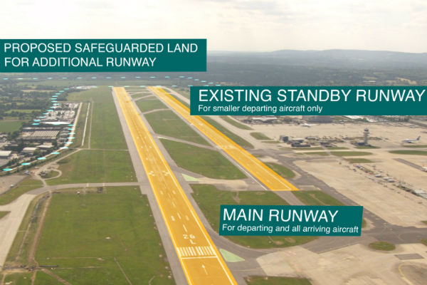 Updated: Gatwick second runway plan outlined